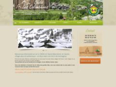 Création du site Internet de Les Colombières & Linaigrette (Entreprise de Gestionnaire de biens à BONNEVAL SUR ARC )