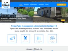 Création du site Internet de LP URBAIN (Entreprise de Entreprise générale à GRANDCHAMP DES FONTAINES )