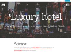 Détails : Lurury hotel