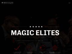 Spectacle de magiciens avec Magicelites
