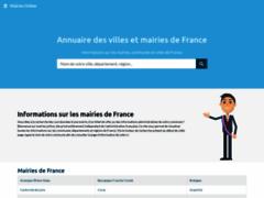 Détails : Mairie Online, annuaire des villes et mairies de France