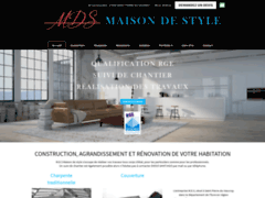 Création du site Internet de M.D.S. (Entreprise de Constructeur de maison à SAINT PIERRE DU VAUVRAY )