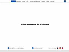 Détails : Thailande, location d une villa avec piscine