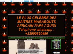 LE PLUS CÉLÈBRE DES MAÎTRES MARABOUTS AFRICAIN PAPA AGUIDI Telephone whatsapp : +22990820486