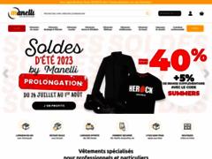 Détails : Manelli, magasin des vêtements professionnels pour professionnels