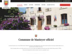 Création du site Internet de MAIRIE DE MANTEYER (Entreprise de Assureur à  MANTEYER )
