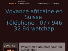 Maître Alain : marabout africain au coeur de vos vies en Suisse