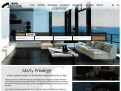Marly Privilège, l'agence immobilière de luxe
