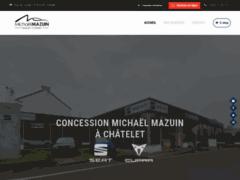 Détails : Garage Michaël Mazuin à Châtelet, concessionnaire Volkswagen et VW Utilitaires