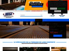 Détails : Lames de terrasse composite