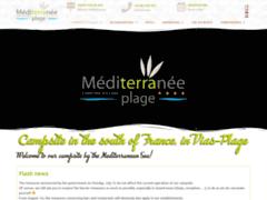Détails : Camping Méditerranée Plage à Vias