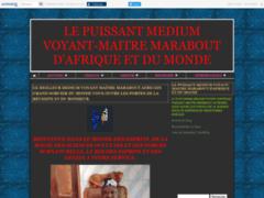 LE PUISSANT MEDIUM VOYANT-MAITRE MARABOUT D'AFRIQUE ET DU MONDE
