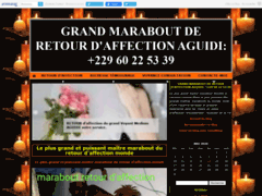 GRAND MARABOUT DE RETOUR D'AFFECTION  AGUIDI: +229 60 22 53 39