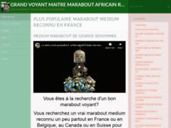 Détails : Roger Gomez : grand maître et marabout africain