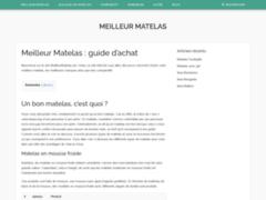 Détails : Meilleur Matelas : le guide pour acheter son matelas