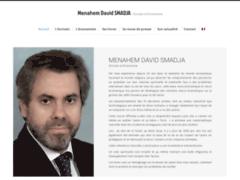 Suivre l'actualité de l'écrivain David Smadja