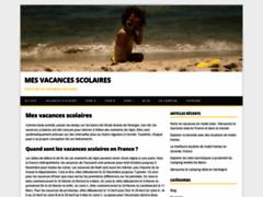 Détails : Dates des vacances scolaires