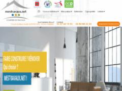 Création du site Internet de Mes travaux net (Entreprise de Courtier en travaux à VANNES )