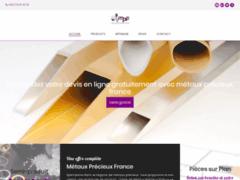 Détails :  Métaux Précieux France, un distributeur de confiance.