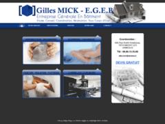 Gilles MICK    E.G.E.B.: Entreprise générale à MAGNY LES HAMEAUX