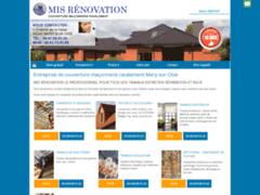 Création du site Internet de MIS renovation  (Entreprise de Couvreur à MERY SUR OISE )