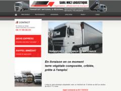 Création du site Internet de MK2 Logistique (Entreprise de Terrassier à PONTENX LES FORGES )