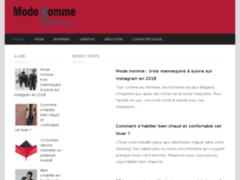 Détails : Mode homme Bordeaux