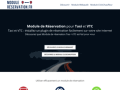 Détails : Commande des modules de réservation pour VTC et taxi