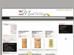 Catalogue de vins et de grands crus