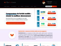Site Détails : MonPetitForfait : système de comparaison de forfaits
