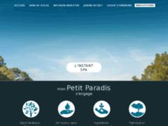Site Détails : mon Petit Paradis : Gels douche et eaux-de-toilette provençaux