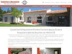 Création du site Internet de Maçonnerie Générale Montero Fontaine (Entreprise de Maçon à ROQUEVAIRE )