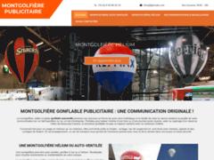 Détails : Montgolfiere gonflable publicitaire