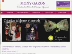 Création du site Internet de MONY GARON (Entreprise de Artisan d'art à GAP )