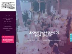 Château-Ferme de Moriensart - location de salles de réception