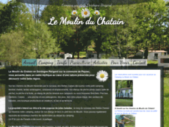 Camping Moulin du Chatain Paysac en dordogne périgord vert