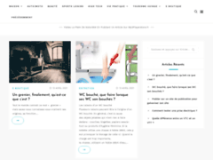 Détails : site de publication généraliste