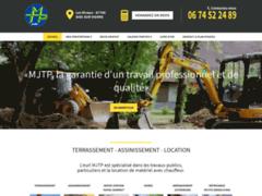 Création du site Internet de MJTP  (Entreprise de Terrassier à AIXE SUR VIENNE )