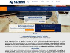 Détails : Multiform PLV, Découpe et transformation de plastique à Achères