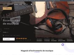 Détails : Magasin d'instruments de musique à Dunkerque