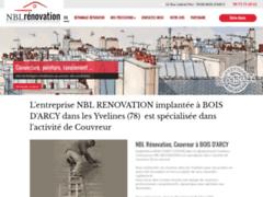 Création du site Internet de NBL RENOVATION (Entreprise de Couvreur à BOIS D'ARCY )