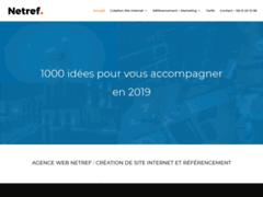 Création de site internet à Dijon : Netref
