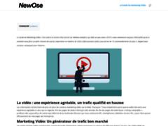 Détails : vidéo e-commerce