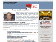 Cabinet Ngawa, Avocat droit du travail Paris