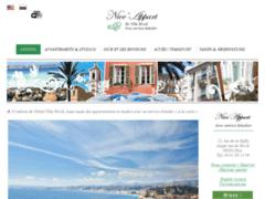 Site Détails : Nice Appart, location d'appartement avec service hotelier