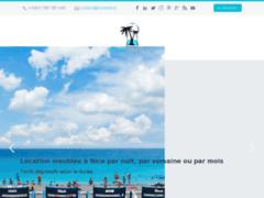Site Détails : Location meublée à Nice par nuit, par semaine ou par mois