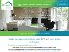 Création du site Internet de Novéo travaux (Entreprise de Courtier en travaux à ANGERS )