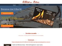 Détails : Société O.Bise, pellets de chauffage