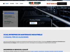 Détails : OCAD, entreprise de maintenance industrielle à Onnaing, près de Valenciennes