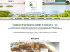 Création du site Internet de OCEO Environnement (Entreprise de Traitement, diagnostic à SAINT GENIES BELLEVUE )